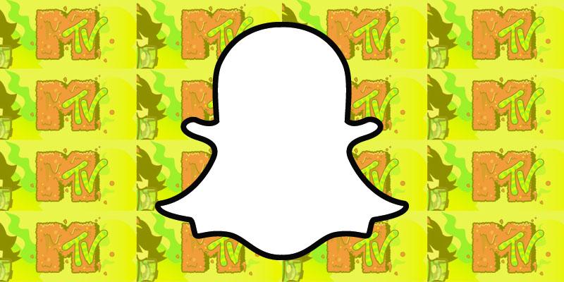 MTV Snapchat