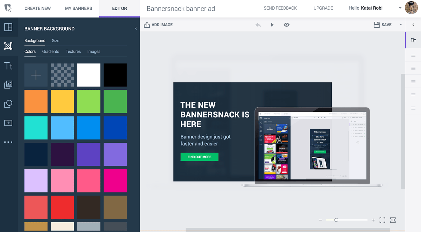 bannersnack best banner editor app