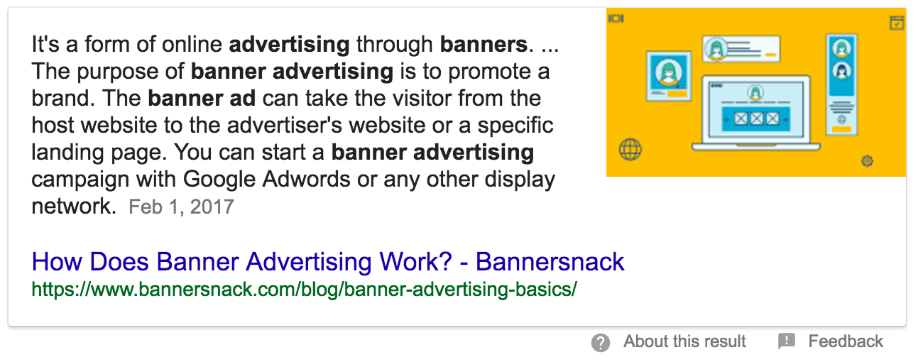 how banner ads work