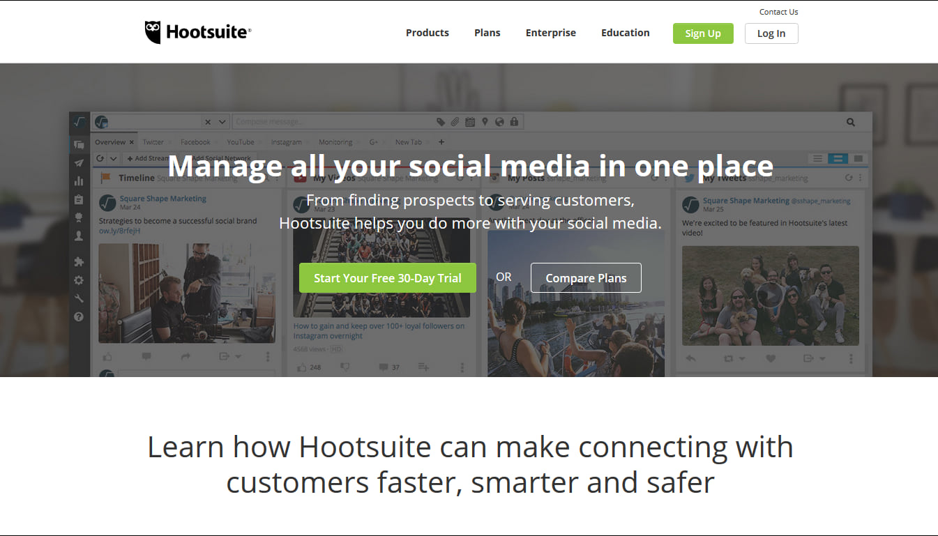Hootsuite Instagram marketing