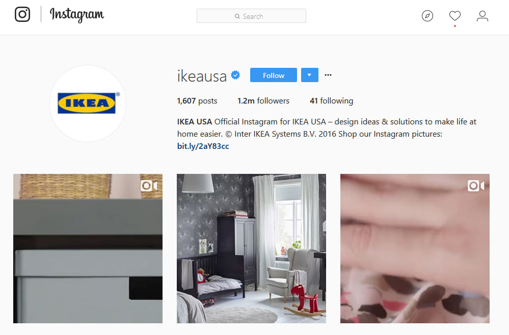 IKEA Instagram Marketing