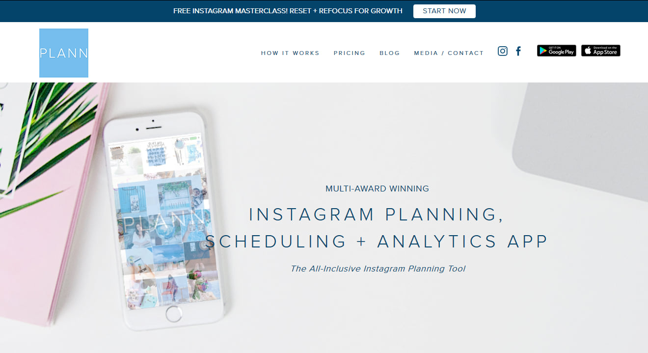 Plann Instagram planning app