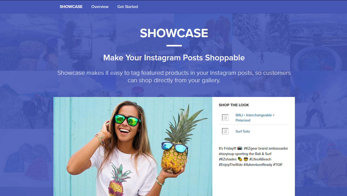 Showcase monetization on Instagram