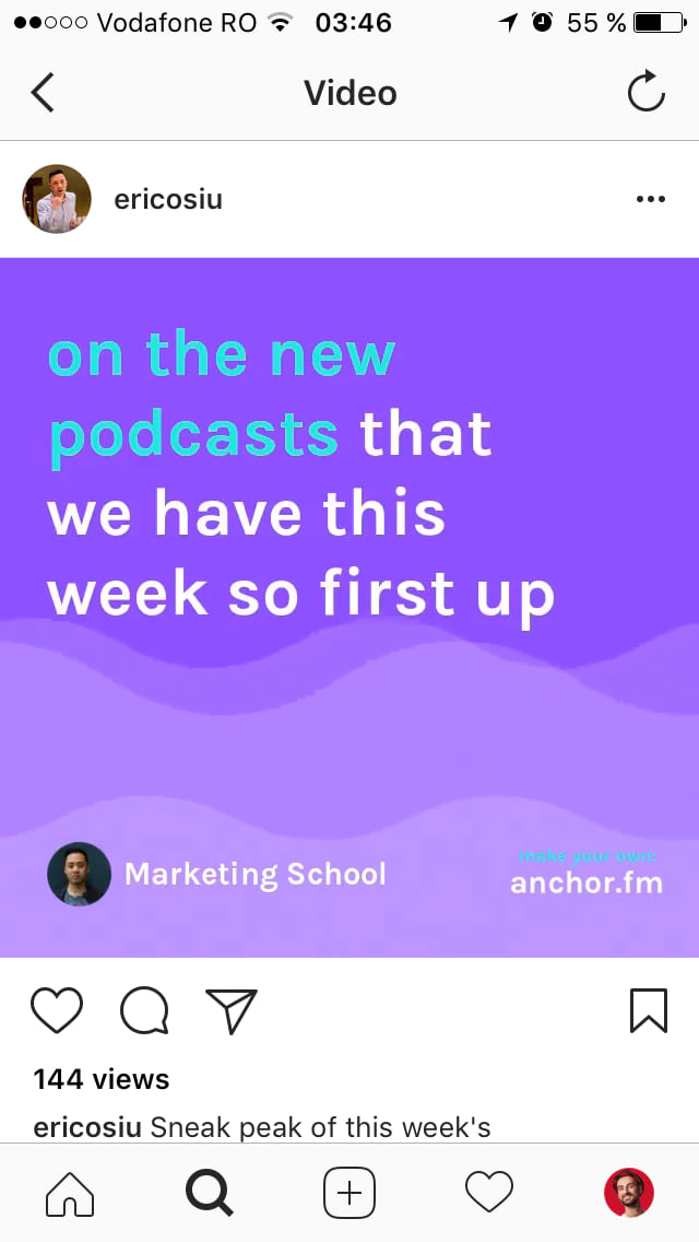 Create video with anchor.fm