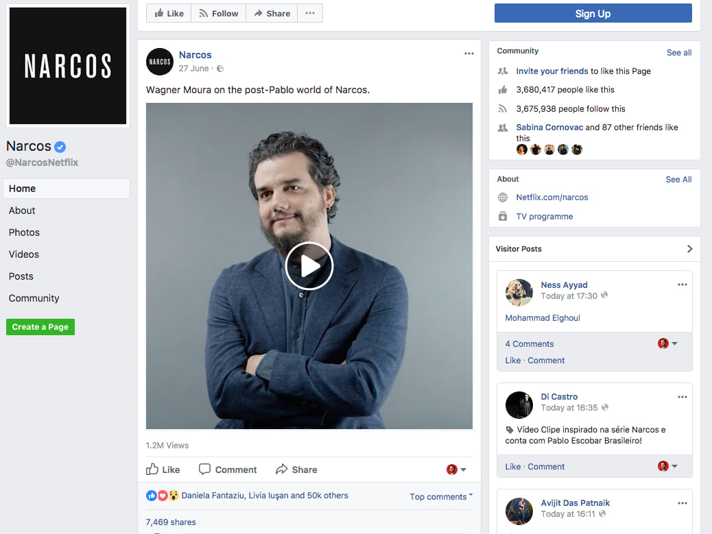 escobar actor narcos facebook