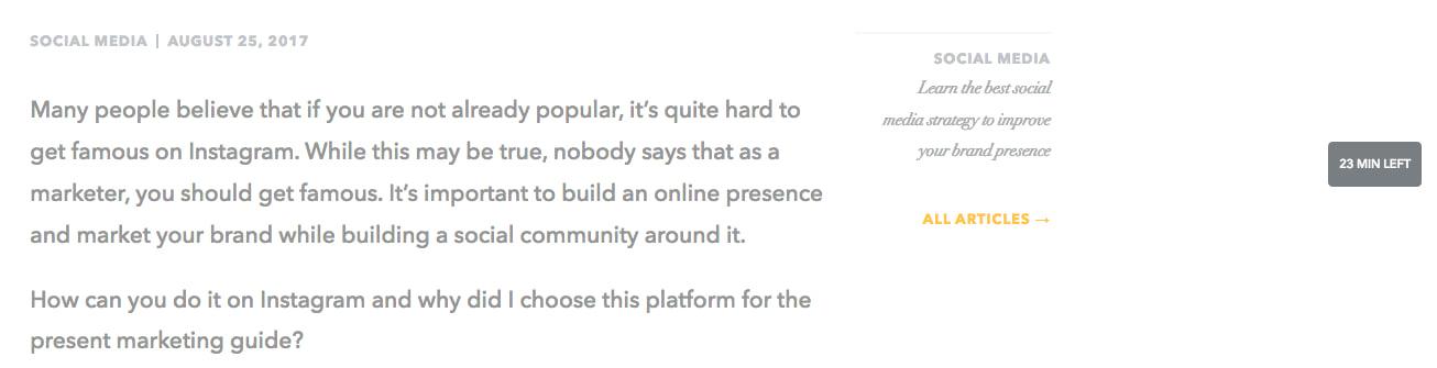 reader counter on blog