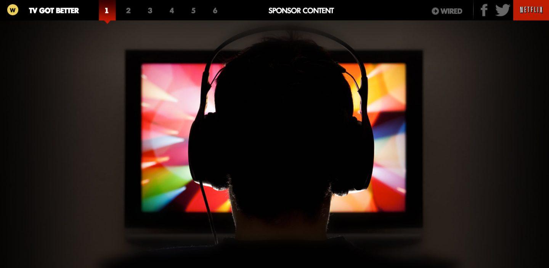 sponsored content netflix wired