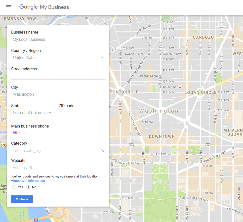 Free Advertising with Google Places