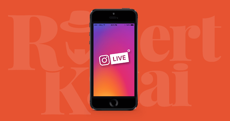 live feature instagram stories
