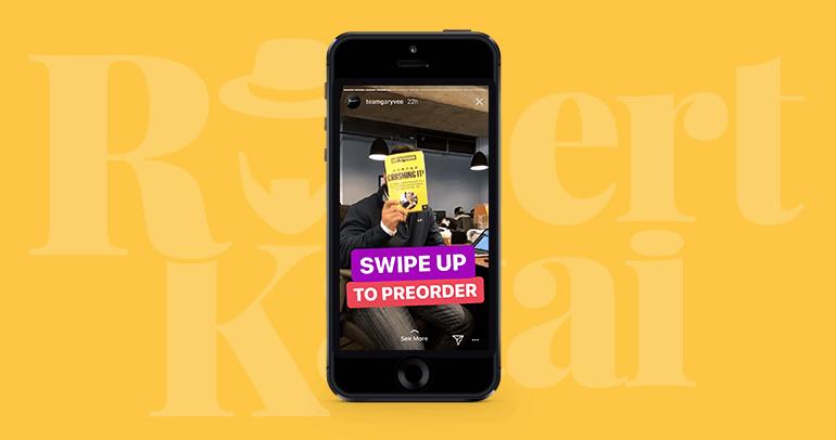 swipe up feature instagram stories