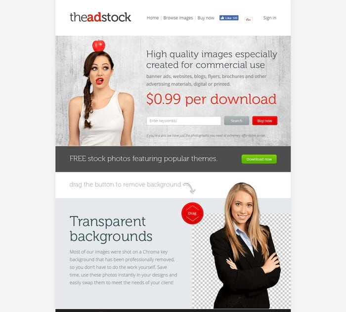 The Adstock visual content tool