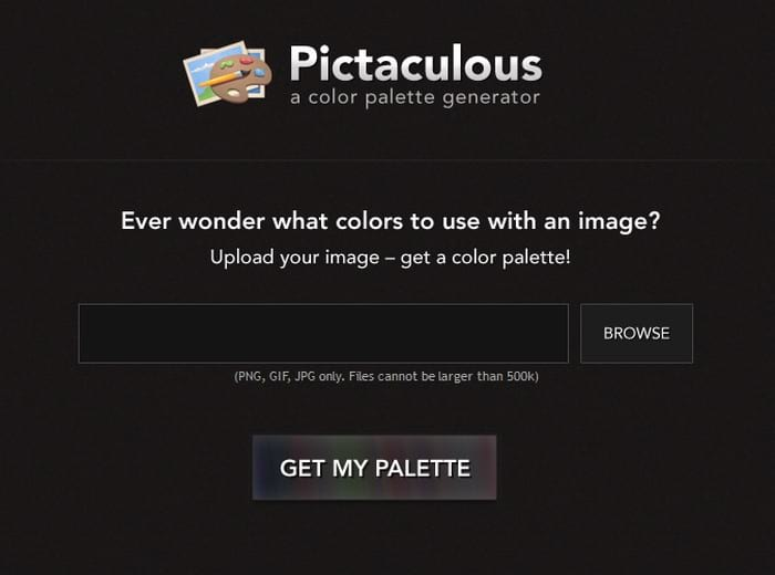 Pictaculous visual content tool
