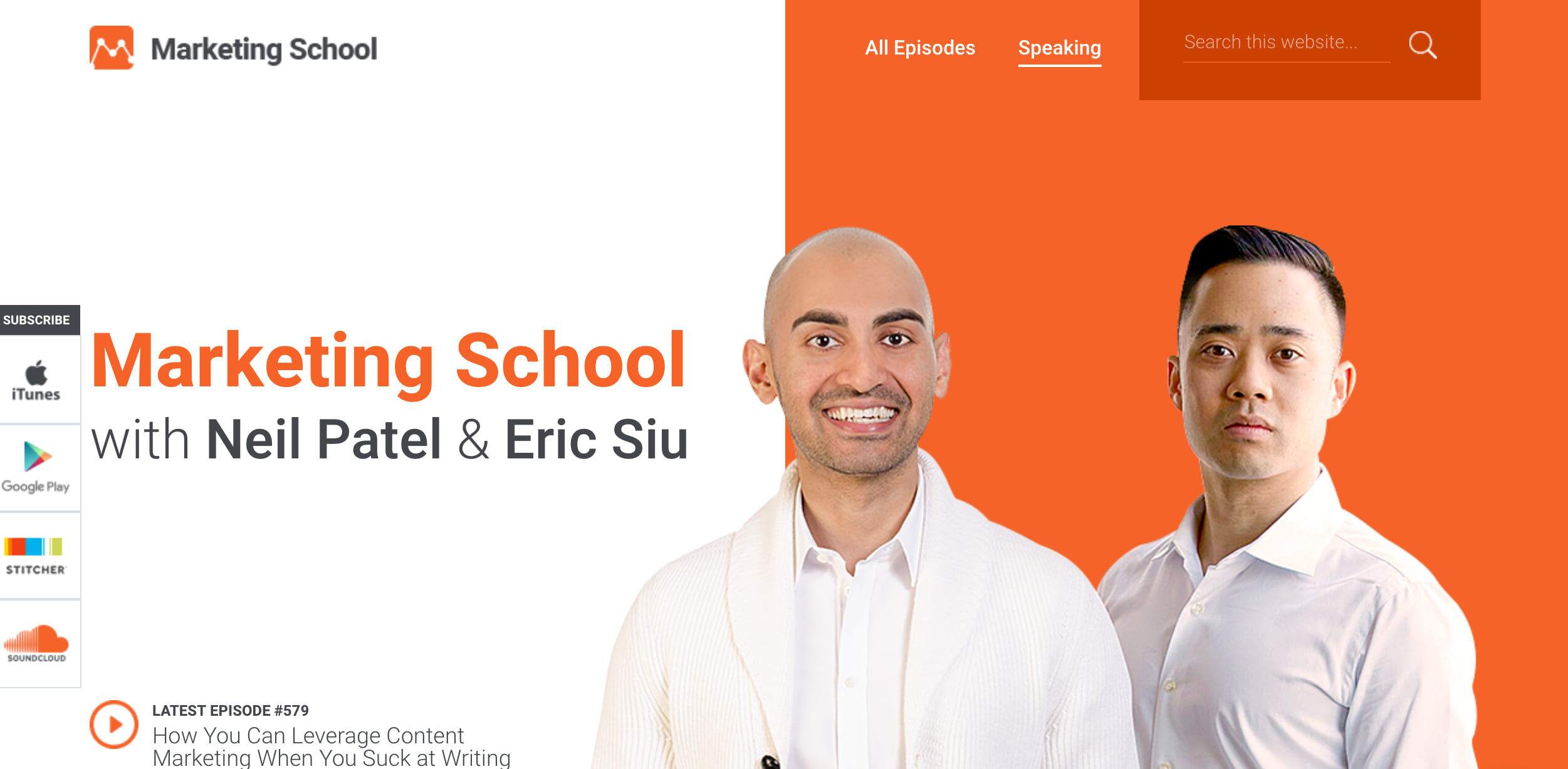 marketingschool.io podcast artwork