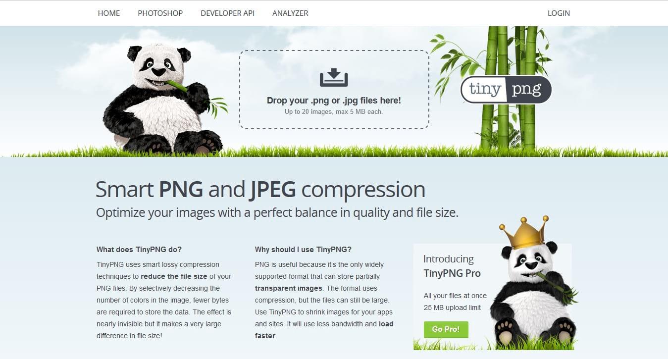 tinypng optimize image