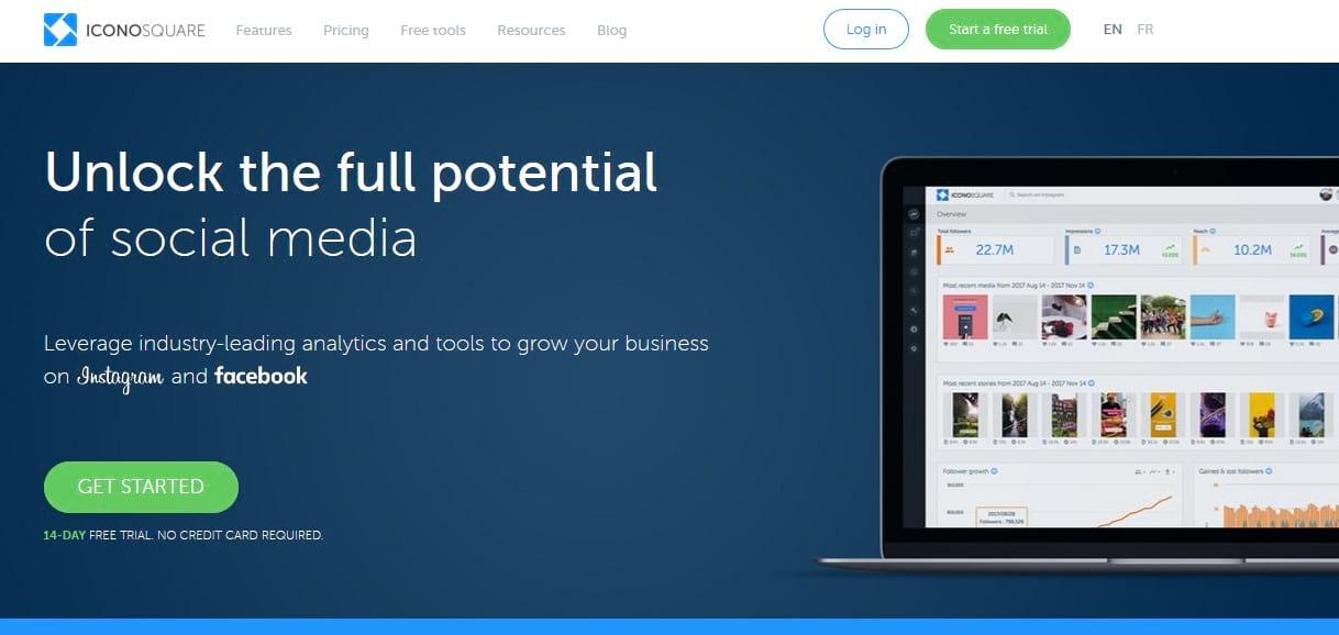 iconosquare social media tool
