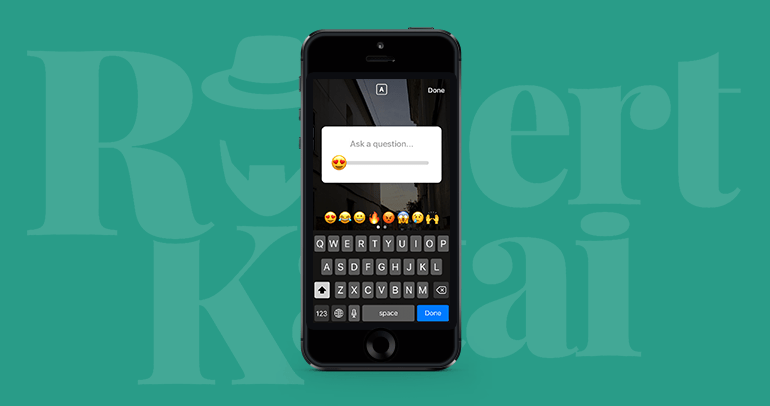 emoji slider instagram stories