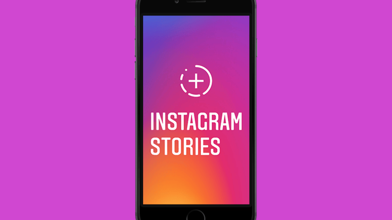 Instagram stories can be used to promote your infographic