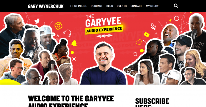 gary vee podcast website