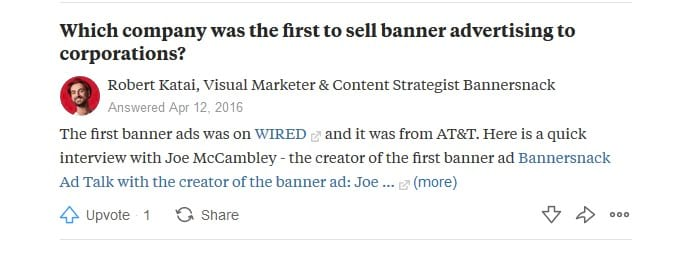 quora marketing ideas