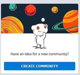 reddit communities