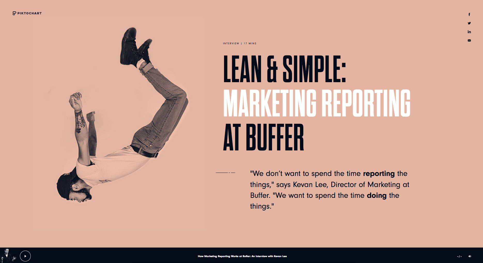 MARKETING REPORTING AT BUFFER
