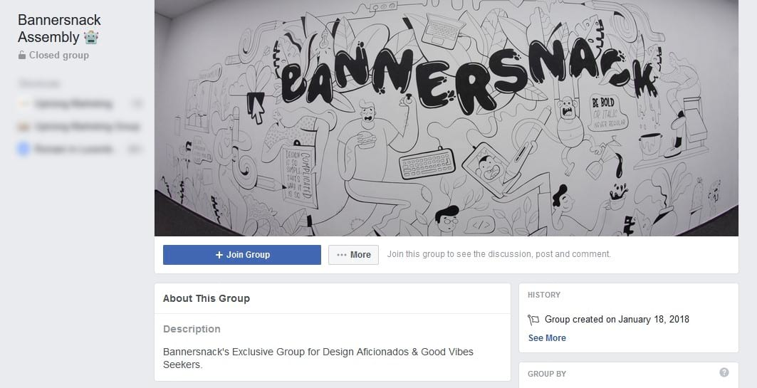 bannersnack facebook group