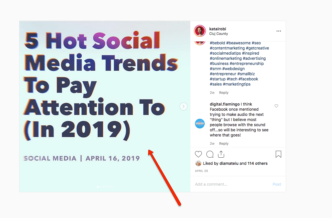 instagram social media trends