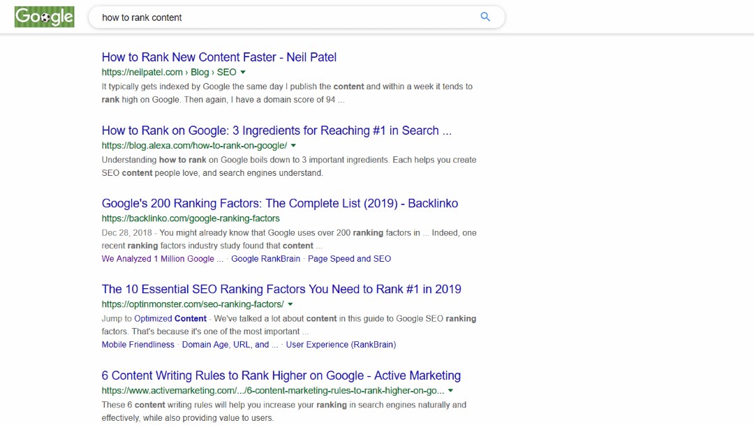 How to Rank Content in Google using TEXToptimizer