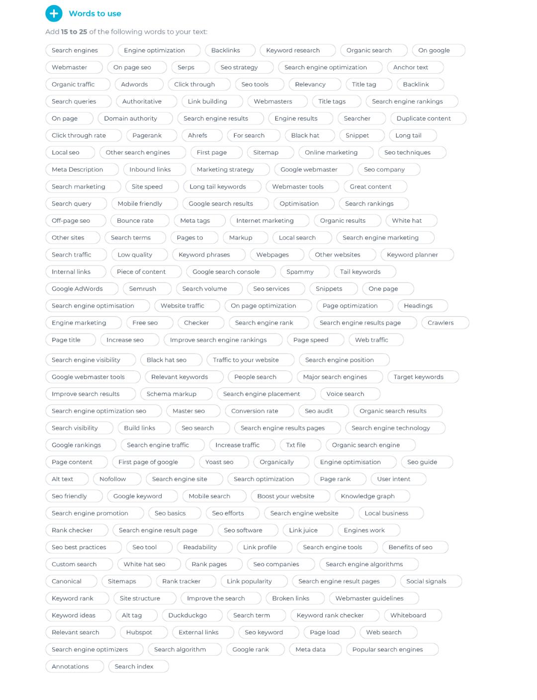 TextOptimizer