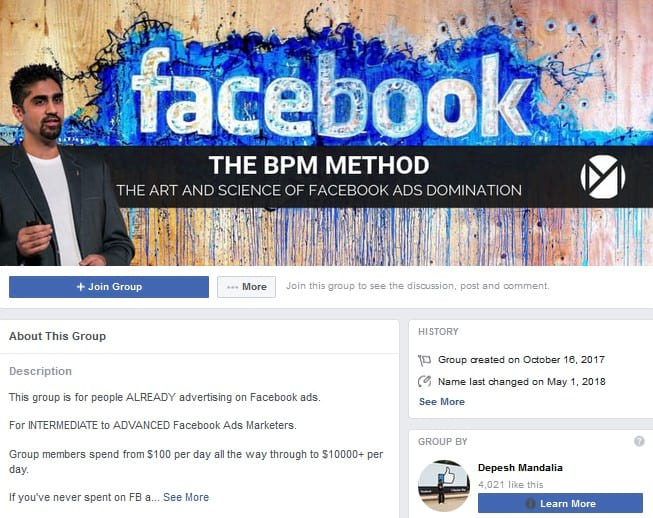 Facebook Ads Experts Academy Facebook Groups