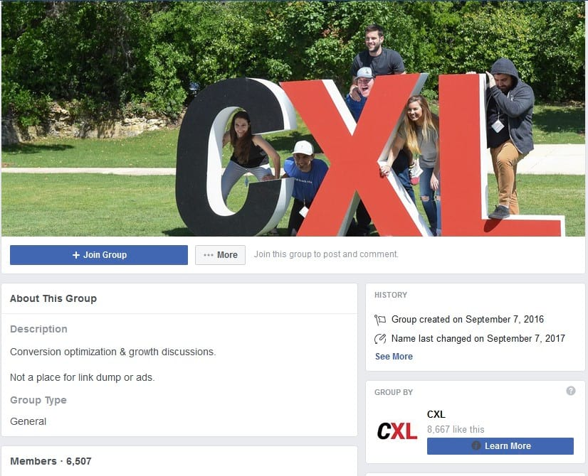 CXL – Conversion, Optimization, Analytics & Growth