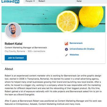 Linkedin Robert Katai