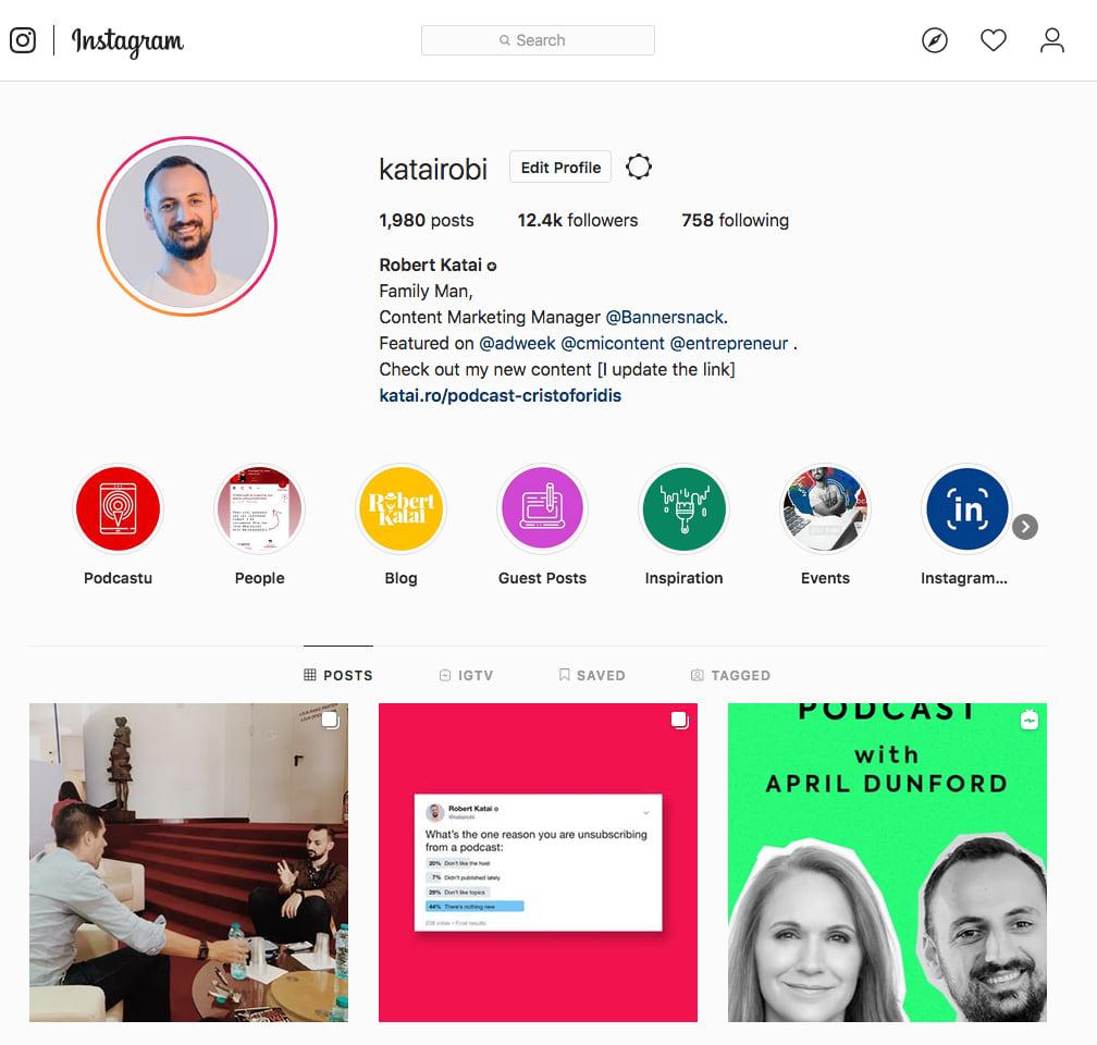 Robert Katai Instagram